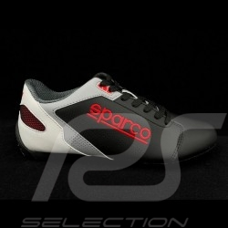 Sneaker Sparco Sport Fahrschuh SL-17 Schwarz / Weiß / Rot / Grau - Herren