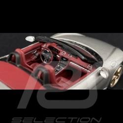 Porsche Boxter 25 years Edition type 982 2021 GT silver grey 1/43 Minichamps WAP0202020MM7Z