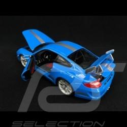Porsche 997 GT3 RS 4.0 blau 1/18 Burago 11036