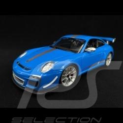 Porsche 997 GT3 RS 4.0 bleue 1/18 Burago 11036