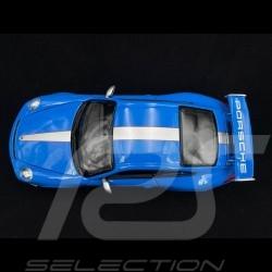 Porsche 997 GT3 RS 4.0 blue1/18 Burago 11036