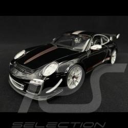 Porsche 997 GT3 RS 4.0 noire 1/18 Burago 11036