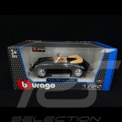 Porsche 356 B Cabriolet 1961 black 1/24 Burago 22078