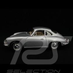 Porsche 356 B Cabriolet 1961 argent 1/18 Burago 12026