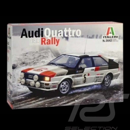 Kit Audi Quattro Rallye Monte Carlo 1981 Hannu Mikkola 1/24 Italeri 3642