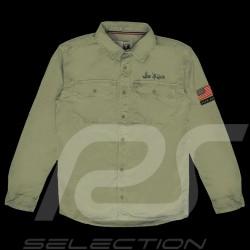 Steve McQueen Shirt US army Khaki grün - Herren