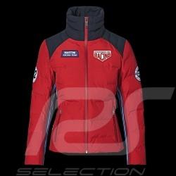 Veste Jacket Jacke Porsche Martini Racing 1971 matelassée Rouge / bleu foncé WAP555M0MR - femme