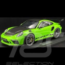 Porsche 911 GT3 RS type 991 2018 vert lézard 1/8 Minichamps 800641000