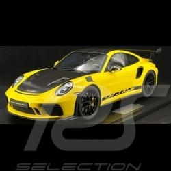 Porsche 911 GT3 RS type 991 2018 jaune racing 1/8 Minichamps 800641004