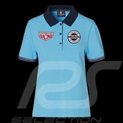 Porsche Polo shirt Martini Racing 1971 Hellbalau WAP557M0MR - Damen