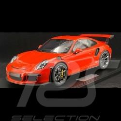 Preorder Porsche 911 GT3 RS type 991 2016 lava orange 1/8 Minichamps 800630000