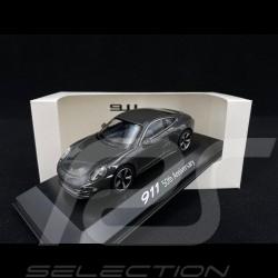 "Porsche 911 type 991 "" 50 ans anniversary "" slate grey 1/43 Welly MAP01999113"