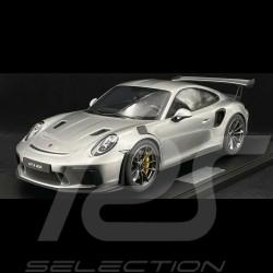 Précommande Porsche 911 GT3 RS type 991 2018 argent GT 1/8 Minichamps 800640001