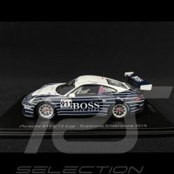 Porsche 911 GT3 Cup type 991 n° 911 Supercup Silverstone 2019 1/43 Spark UK006