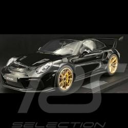 Porsche 911 GT3 RS type 991 2018 noire 1/8 Minichamps 800640002