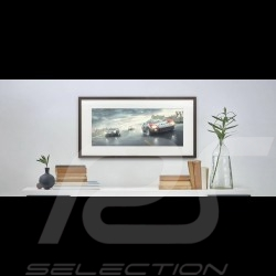 """Luxury Frame Artwork """"Fords and the Furious"""" 50 x 24 cm"""