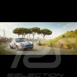 """Luxusrahmenkunstwerk """"Racing Sport Redefined"""" 50 x 24 cm"""