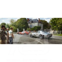 Luxusrahmenkunstwerk 2 Ferrari 250 GTO 50 x 24 cm