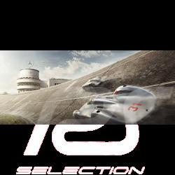 Cadre Duo Mercedes Benz W125 Auto Union Type C Luxe 50 x 24 cm