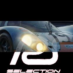 Luxury Frame Artwork Trio Porsche 917 Winner Le Mans 1971 50 x 24 cm