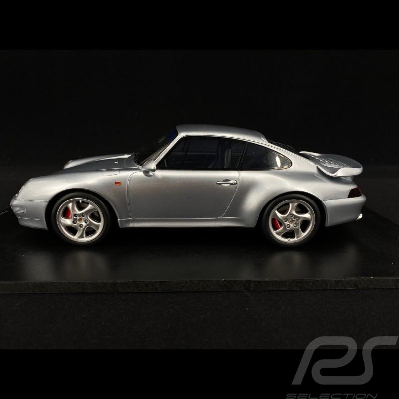 Porsche 911 type 993 Turbo 1997 Silver 1/18 Spark 18S468