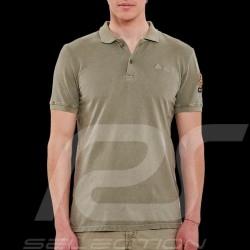 Steve McQueen Polo shirt US Star & Stripes Khaki green - Men