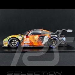 Porsche 911 RSR type 991 Winner 24H Le Mans 2019 n° 56 Team Project One 1/12 Spark 12S019