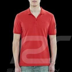 Steve McQueen Polo shirt US Star & Stripes Red - Men
