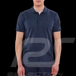 Polo Steve McQueen US Star & Stripes Bleu marine - homme