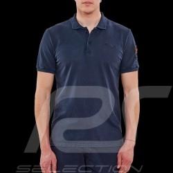 Steve McQueen Poloshirt US Star & Stripes Marineblau - Herren