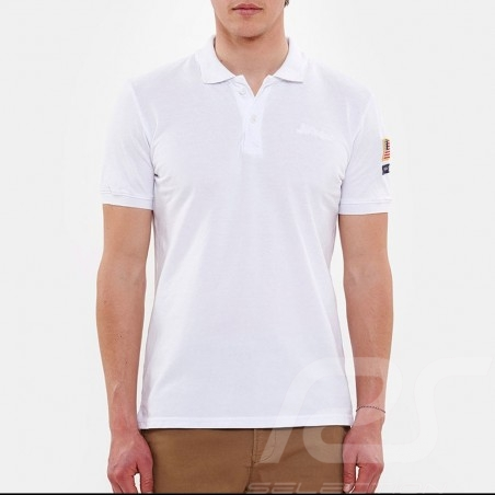 Steve McQueen Polo shirt US Star & Stripes White - Men
