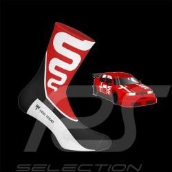 Alfa Romeo 155 socks red / black / white - unisex - Size 41/46