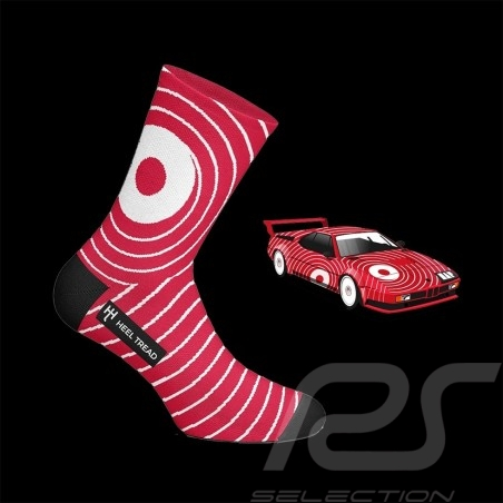 BMW M1 BASF socks red / white - unisex - Size 41/46