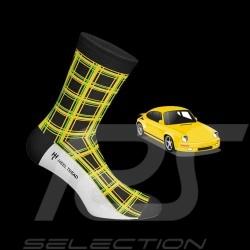 Chaussettes Porsche 911 Carrera RS 3.2 Ruf CTR Yellowbird noir / vert / jaune - mixte - Pointure 41/46