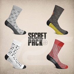 4 pairs 007 Socks Boxset - Unisex