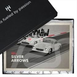 4 pairs Mercedes Benz 300SL Racing Legend Socks Boxset - Unisex