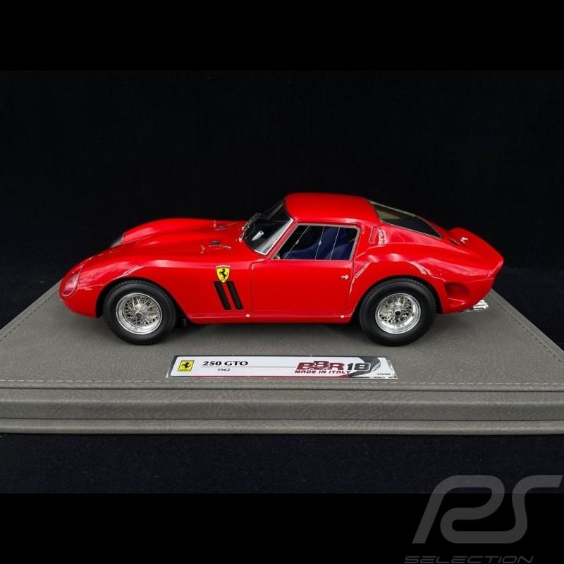 Ferrari 250 GTO Coupé 1962 Red 1/18 BBR BBR1807A