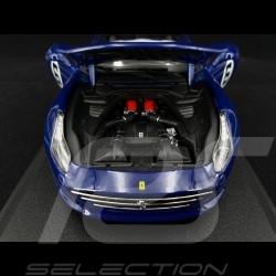 """Ferrari California T n° 6 """"The Sunoco"""" 70th anniversary blue 1/18 Bburago 76104"""