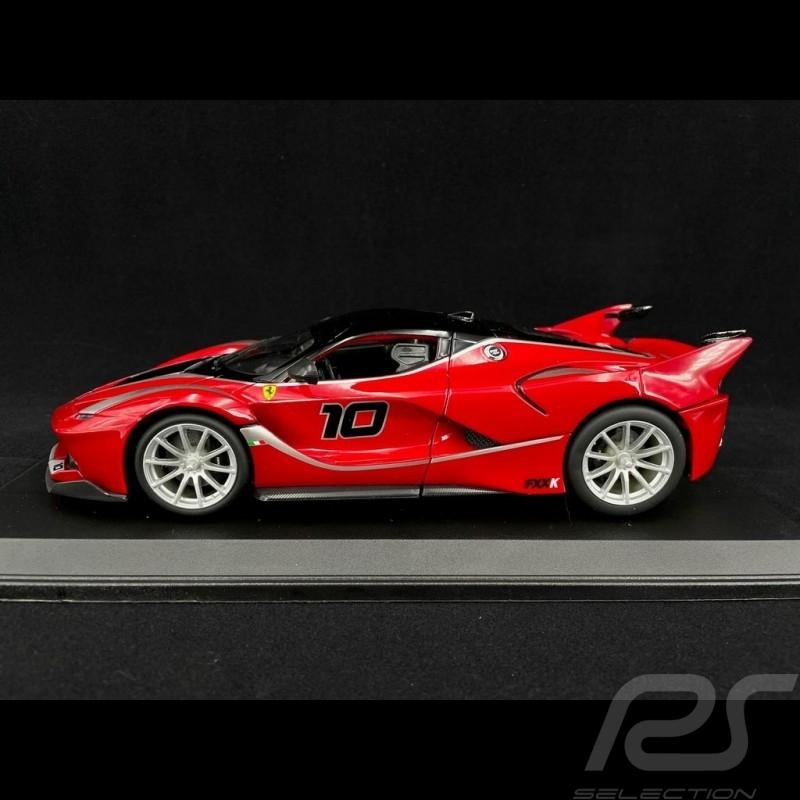 Ferrari FXX-K n° 10 red / black 1/18 Bburago 16010