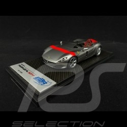Ferrari Monza SP1 2018 Titanium grey / Rouge 1/43 BBR CAR60