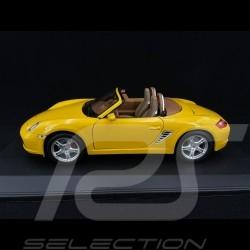 Porsche Boxster S 987 jaune 1/18 Welly 31123