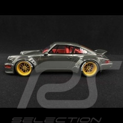 Porsche 911 type 964 RWB Bourgogne grey 1/18 GT Spirit GT816