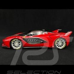 Ferrari FXX-K n° 88 red 1/18 Bburago 16907