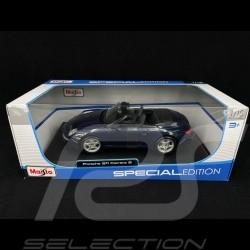 Porsche 997 Carrera S Cabriolet blue 1/18 Maisto 31126