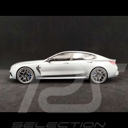 BMW M8 Gran Coupe Competition 2020 Frozen Bluestone Metallic 1/18 GT Spirit GT846