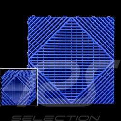 Dalle de garage Bleu RAL5005 Qualité-Prix Garantie 15 ans - Lot de 6 dalles de 40 x 40 cm Garage floor tiles Garagenplatten