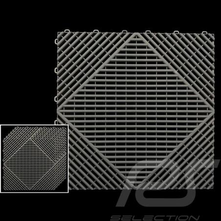 Garage floor tiles Charcoal grey RAL7016 Quality-Price - 15 years warranty - Set of 6 tiles of 40 x 40 cm