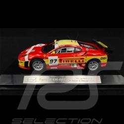 Ferrari Racing F430 GT2 n° 97 24h Le Mans 2008 1/43 Bburago 36303
