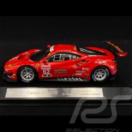 Ferrari 488 GTE 24h de Daytona 2017 n° 62 Risi Competizione 1/43 Bburago 36301