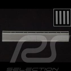 Abgeschrägter Bordstein für Garagenplatte - Farbe Grau RAL7012 - 4er-Satz - ohne Ösen